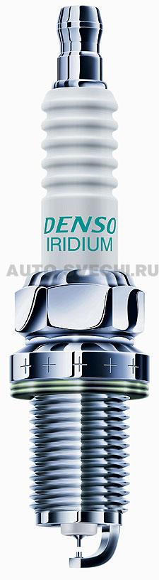 SKODA RAPID 1.2 и 1.6 л: свечи иридиевые с платиновой накладкой (иридиево-платиновые)  Denso IK20TT
